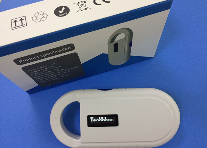 ISO RFID Microchip Scanner / Reader USB Support With Low Temperature